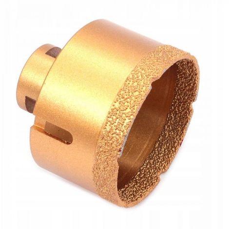 Broca de diamante para gres porcelánico m14 68mm s