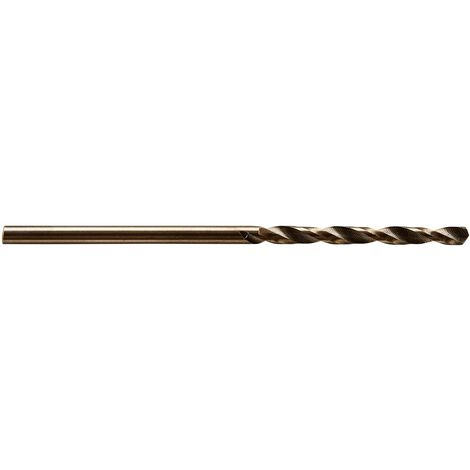 Broca de espiral HSS-Co para metal