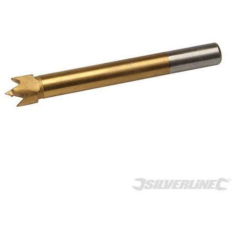 Broca Forstner con revestimiento de titanio (12 mm)