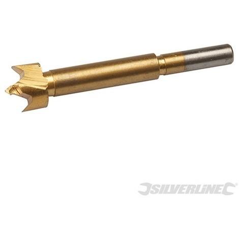 Broca Forstner con revestimiento de titanio (18 mm)