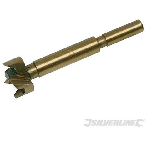 Broca Forstner con revestimiento de titanio (22 mm)