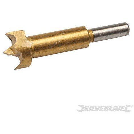 Broca Forstner con revestimiento de titanio (26 mm)