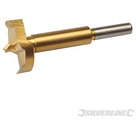 Broca Forstner con revestimiento de titanio (35 mm)