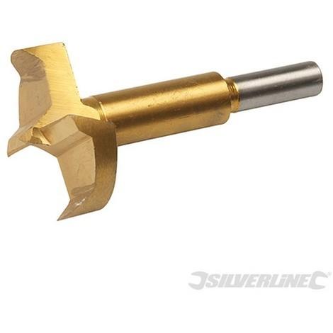 Broca Forstner con revestimiento de titanio (45 mm)