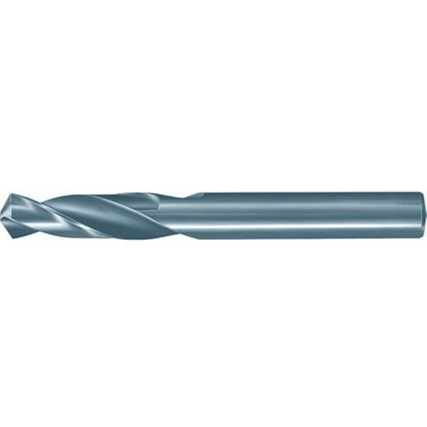 Broca helicoidal carburo monobloque, SuperLine, 3xD, DIN 6539, Ø h7 : 2,90 mm, Largo total 46 mm, Largo hélice 16 mm