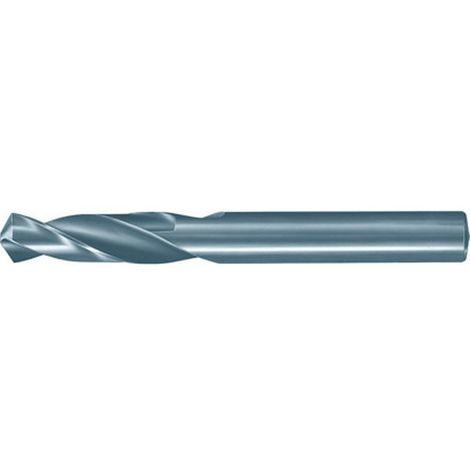 Broca helicoidal carburo monobloque, SuperLine, 3xD, DIN 6539, Ø h7 : 6,00 mm, Largo total 66 mm, Largo hélice 28 mm