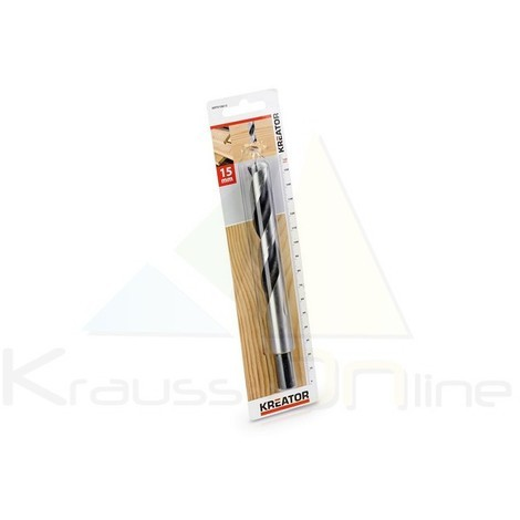 Broca/madera 15x160 (KRT010613)