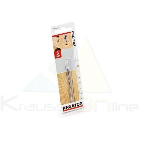 Broca/madera 3x60 (KRT010601)