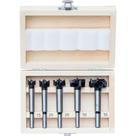 Broca madera/PVC-Sy HW 5 unidades 15-35mm FORTIS