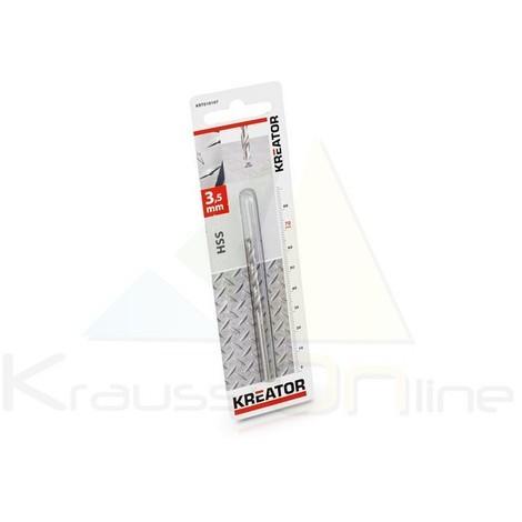 Broca/metal, hss 3,5x70 mm (KRT010107)