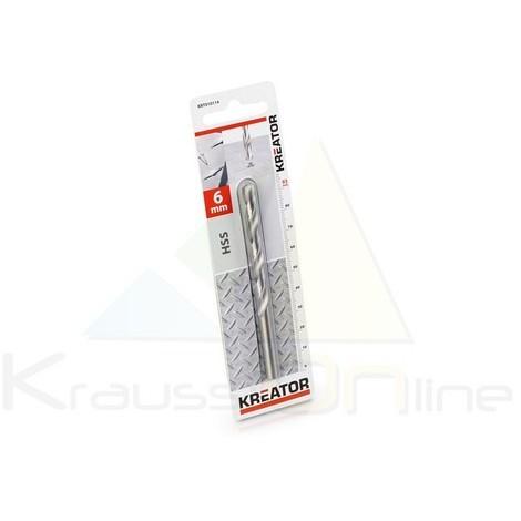 Broca/metal, hss 6x93 mm (KRT010114)