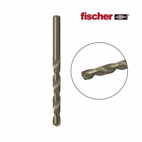 Broca metal hss-co 6,0x57/93 / 1k fischer EDM 96240