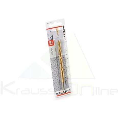 Broca/metal, hss-tin 8,5x117 (KRT010219)