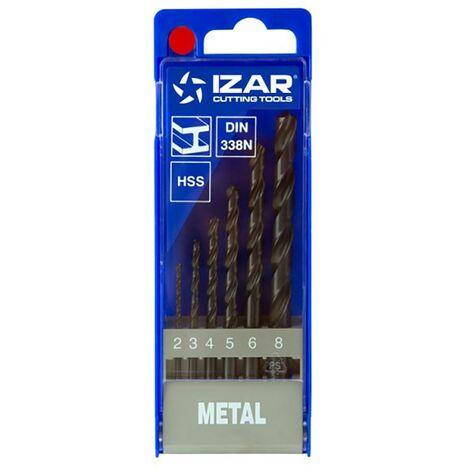 Broca Metal Izar Juego Hss 1462 1462-30230