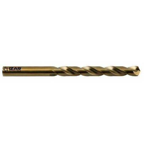 Broca Metal Rectificada Hss 04Mm Din338 5%Cobalto Corta Izar 2 Pz
