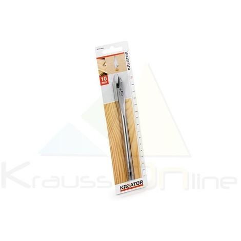 Broca plana/madera 10x152 (KRT010803)
