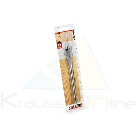 Broca plana/madera 12x152 (KRT010804)