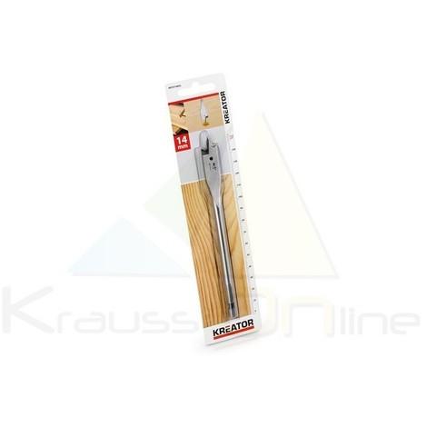Broca plana/madera 14x152 (KRT010805)