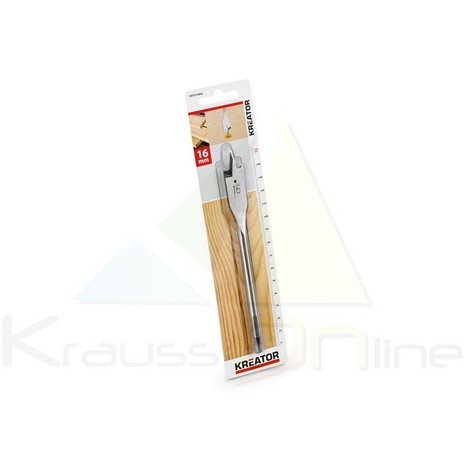 Broca plana/madera 16x152 (KRT010806)