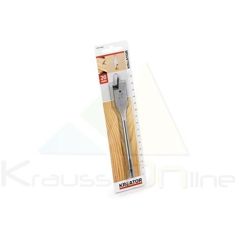 Broca plana/madera 20x152 (KRT010808)