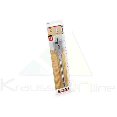 Broca plana/madera 22x152 (KRT010809)