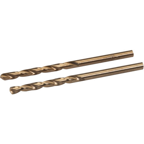 Brocas de cobalto, 2 pzas 4 mm - NEOFERR