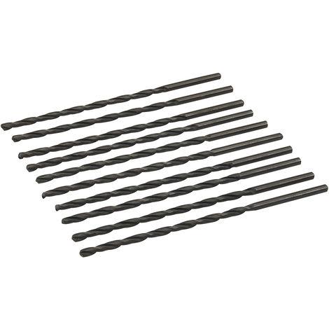 Brocas métricas largas HSS-R, 10 pzas 3,5 x 110 mm - NEOFERR