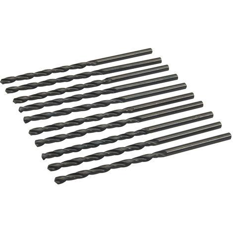 Brocas métricas largas HSS-R, 10 pzas 5,5 x 139 mm - NEOFERR