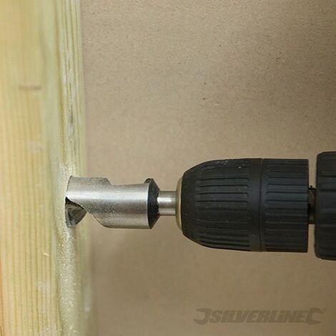 Brocas salomónicas cortas. 5 pzas (10 - 25 mm)