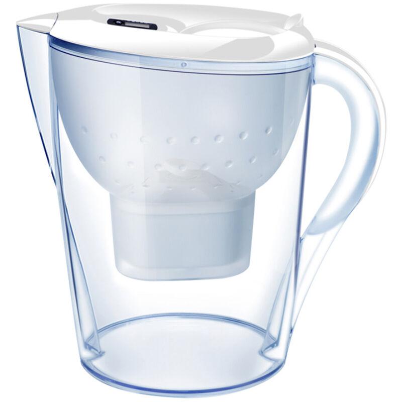 Brocca con filtro per acqua da 3,5 litri con indicatore elettronico 1 filtro Sistema di filtrazione a 4 f