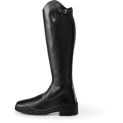 """main image of """"Brogini Unisex Adult Modena Extra Wide Long Riding Boots (9 UK) (Black)"""""""