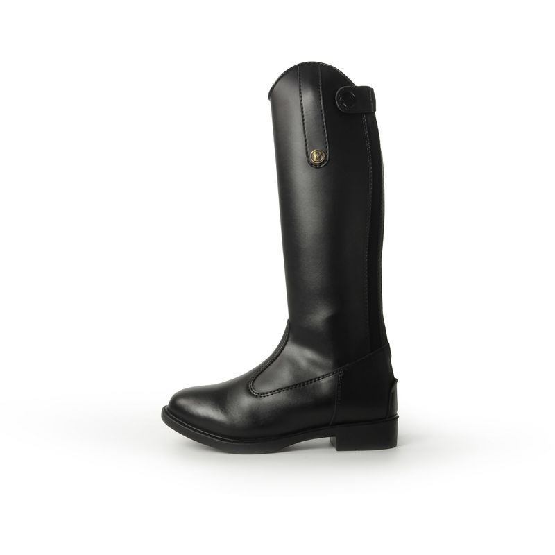 Image of Brogini Unisex Childrens Modena Piccino Synthetic Long Boots (12.5 Child UK) (Black)