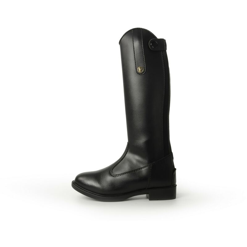 Image of Brogini Unisex Childrens Modena Piccino Synthetic Long Boots (12 Child UK) (Black)