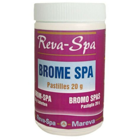 Brome Reva-Spa MAREVA - pastilles de 20g - 1kg - 150723U