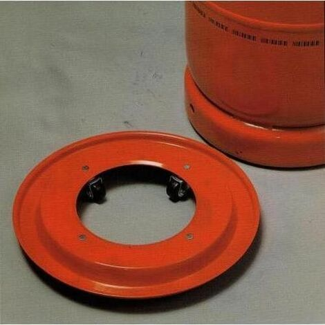 broncinox-Support métallique pour bouteille butane