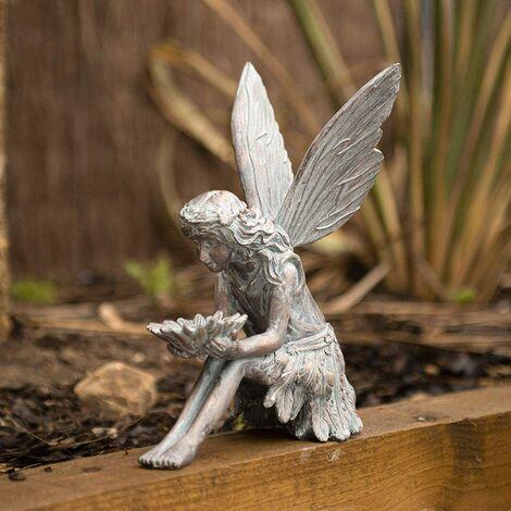 """main image of """"Bronze Sitting Fairy"""""""