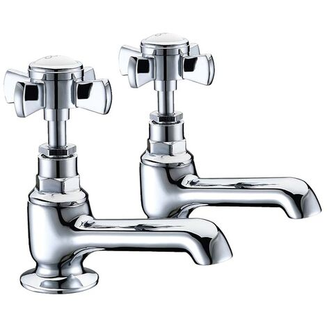 Brook Basin Taps (Pair) - By Voda Design