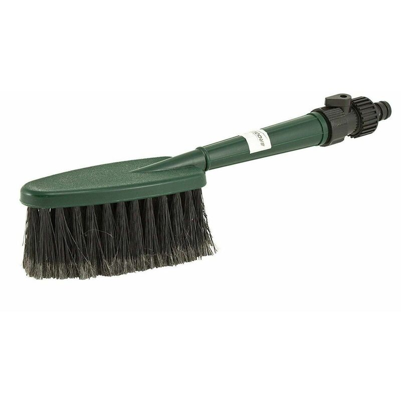 Image of Brookstone Deluxe Hand Wash Brush Quick And Effective Cleaning
