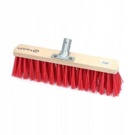 Broom PVC 80 cm street brush brush sweeper nylon