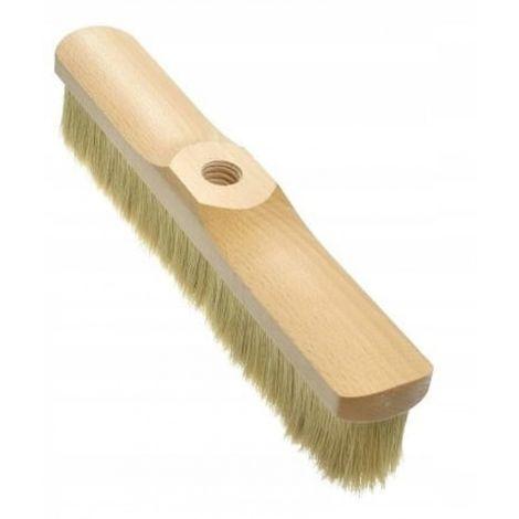 Broom sweeper 33 cm bristle brush on a stick