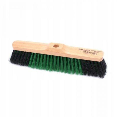 Broom sweeper 50 cm nylon brush on a stick