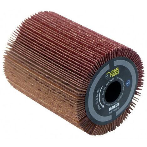 Brosse à lamelles pour poncer surface plane 80x100 mm pour rénovateur REX 80 FATOOLS