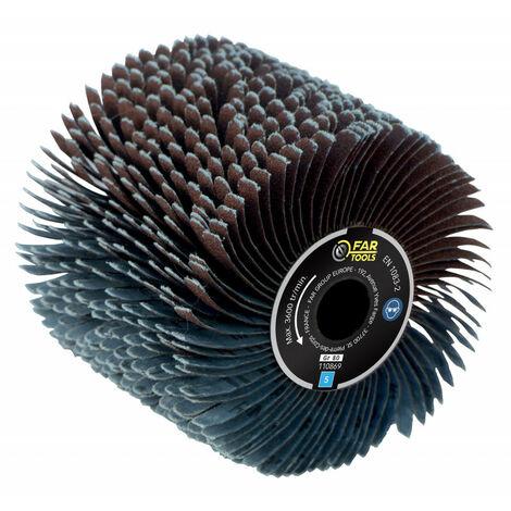 Brosse à lanières abrasives pour poncer des surfaces incurvées - pour renovateur REX 120C, REX 200, REX-H200 FARTOOLS