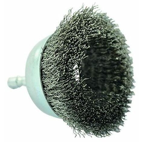 BROSSE COUPE TECHNIC TIVOLY fil inox - décapage de l'inox 75 pour perceuse