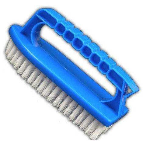 Brosse de nettoyage pour piscine avec poignet
