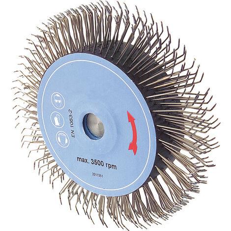 "Brosse de ponçage à disque Turbo ""Hérisson"" avec fixation mandrinKunzer"