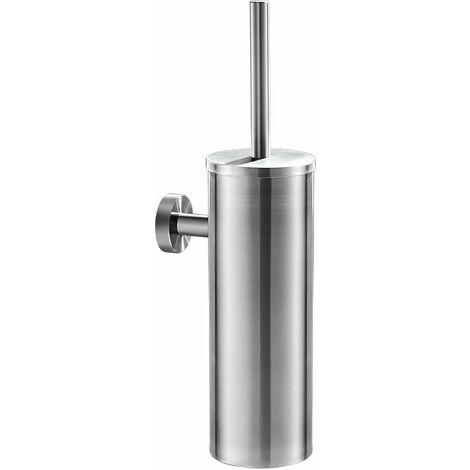 Brosse de Toilette WC avec Support en Acier Inoxydable