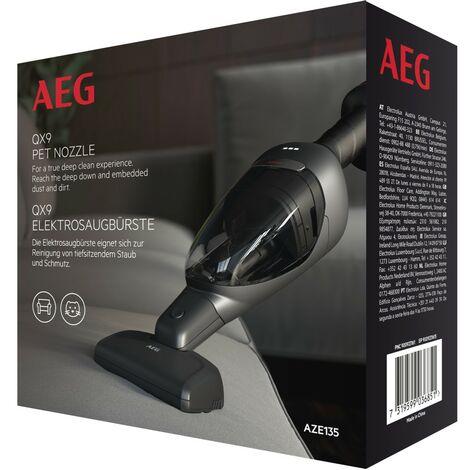 Brosse entretien, poils d'animaux pour aspirateurs balai QX9 AEG