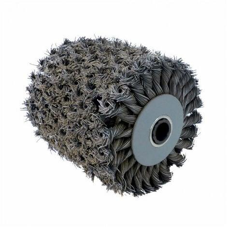 Brosse fibre métal torsadé pour meuler, creuser - pour renovateur REX 120C, REX 200, REX-H200 FARTOOLS