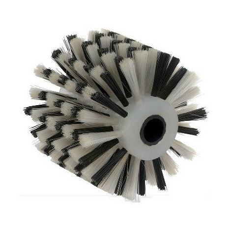 Brosse fibre plastique pour nettoyage doux toutes surfaces et matériaux - pour renovateur REX 120C, REX 200, REX-H200 FARTOOLS